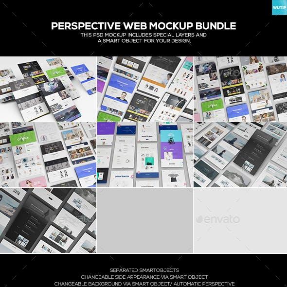 Perspective Web Mockup Bundle