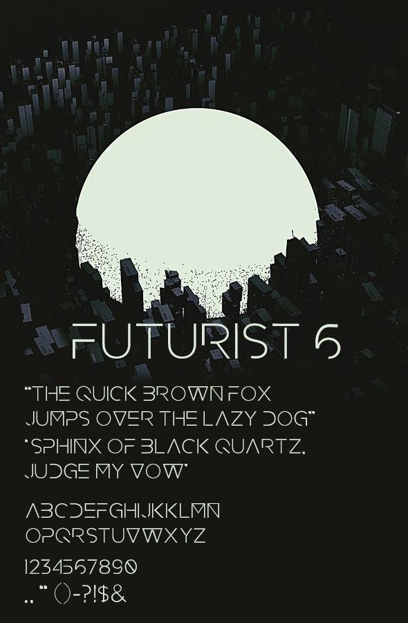 Futurist 6 - Futuristic Decorative