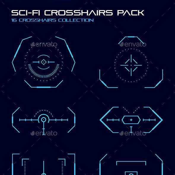 Sci-Fi Crosshair Pack