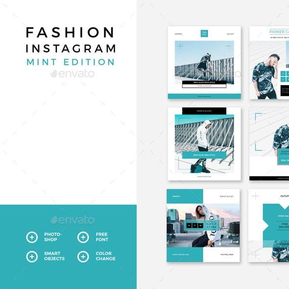 Fashion Instagram – Mint Edition