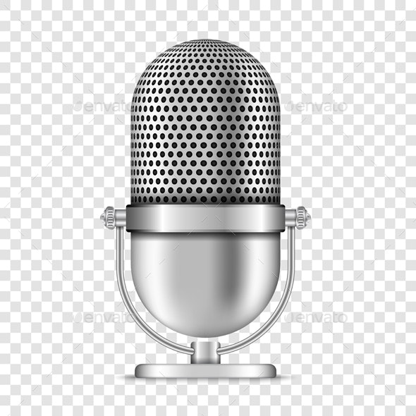 Microphone - Man-made Objects Objects