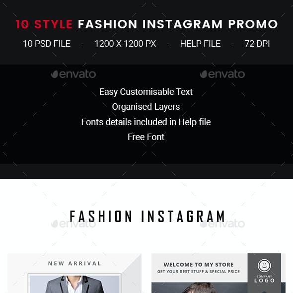 10 Instagram Fashion Post