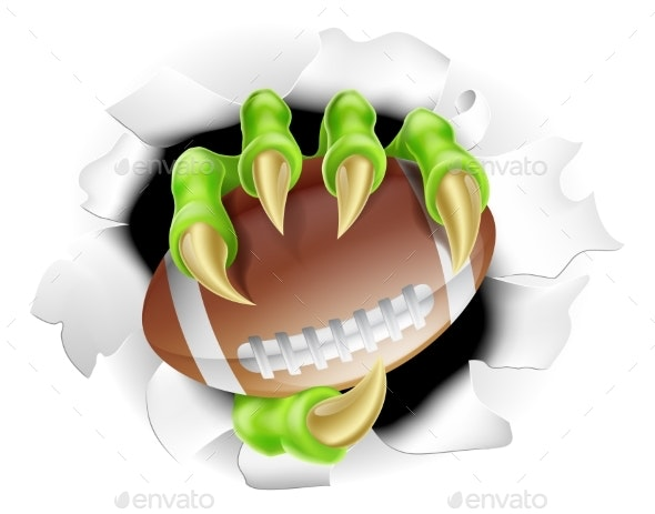 Football Claw - Sports/Activity Conceptual
