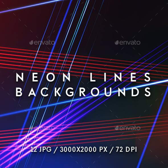 Neon Lines Backgrounds