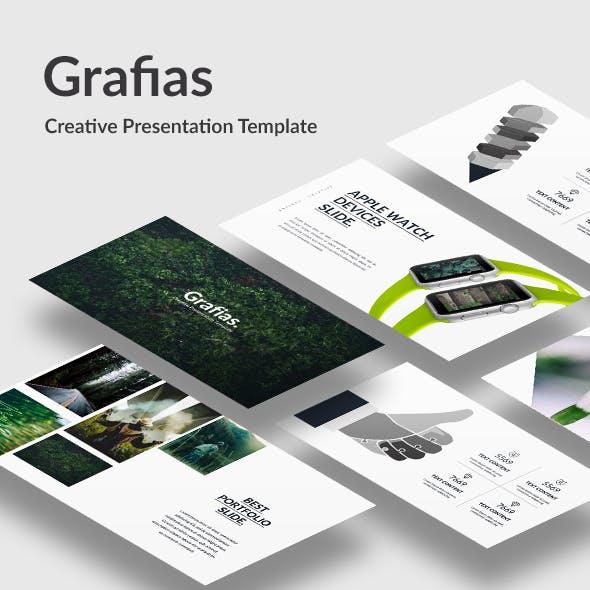 Grafias - Creative Keynote Template