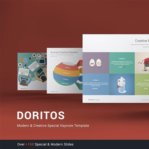 Doritos - Multipurpose & Creative Keynote Template