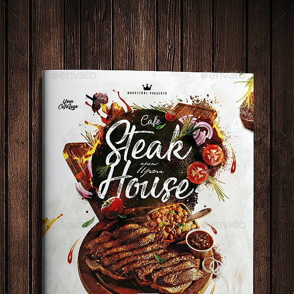 Steak House Menu