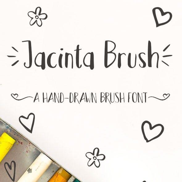 Jacinta Brush Font