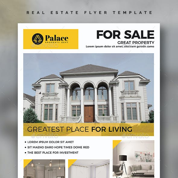 Real Estate Flyer Template Vol.02