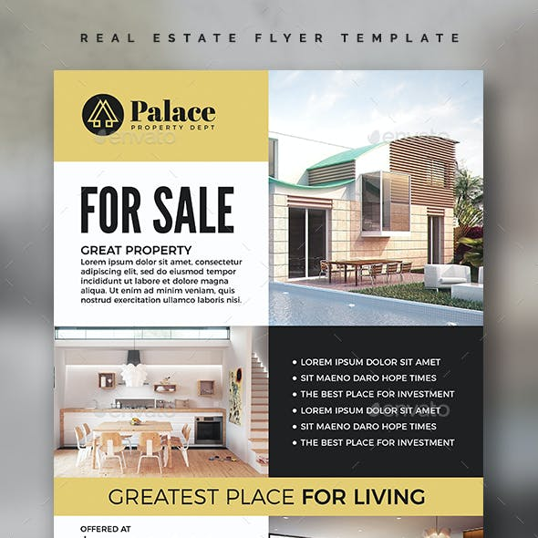 Real Estate Flyer Template Vol.03