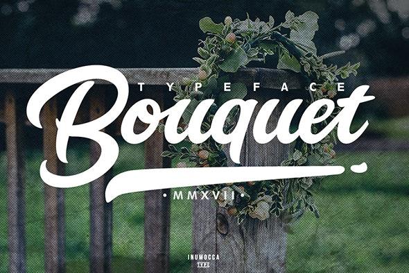Bouquet Typeface - Script Fonts