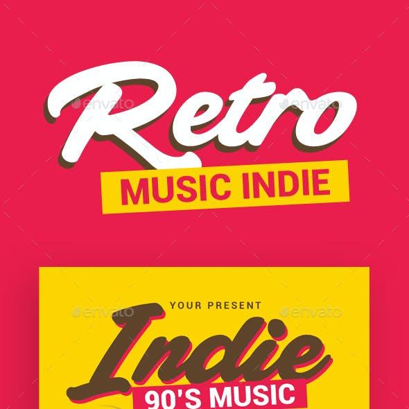 Retro Music Indie
