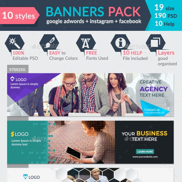 Banners Pack-2