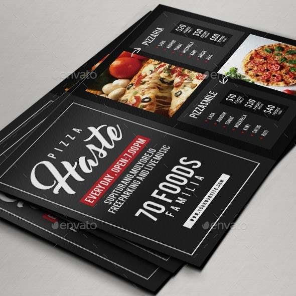 Food or Pizza Flyer