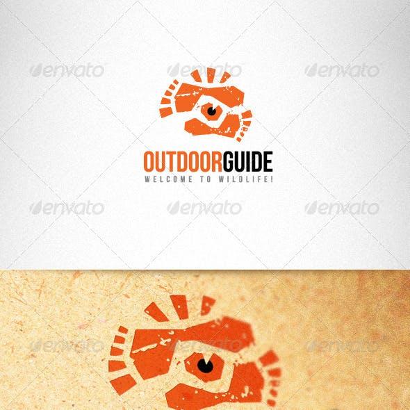 Outdoor Guide Creative Logo Template