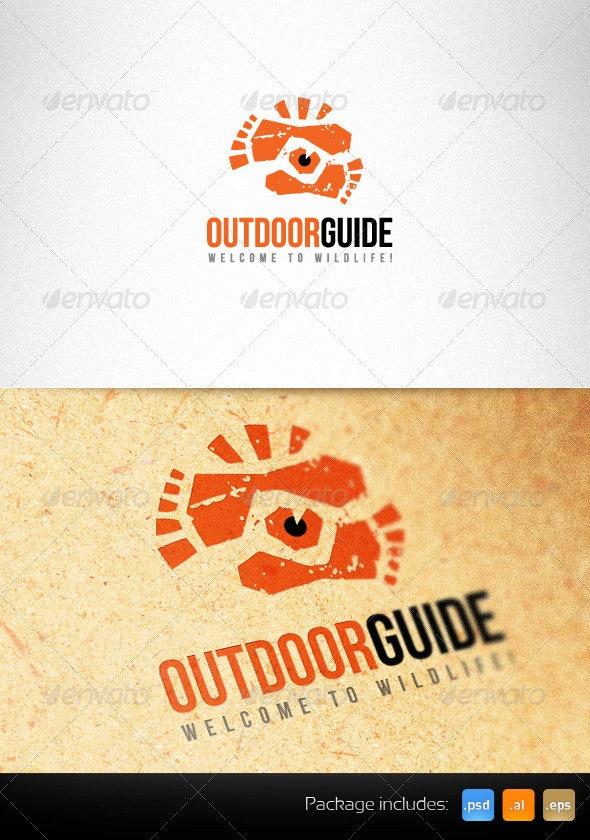Outdoor Guide Creative Logo Template - Humans Logo Templates