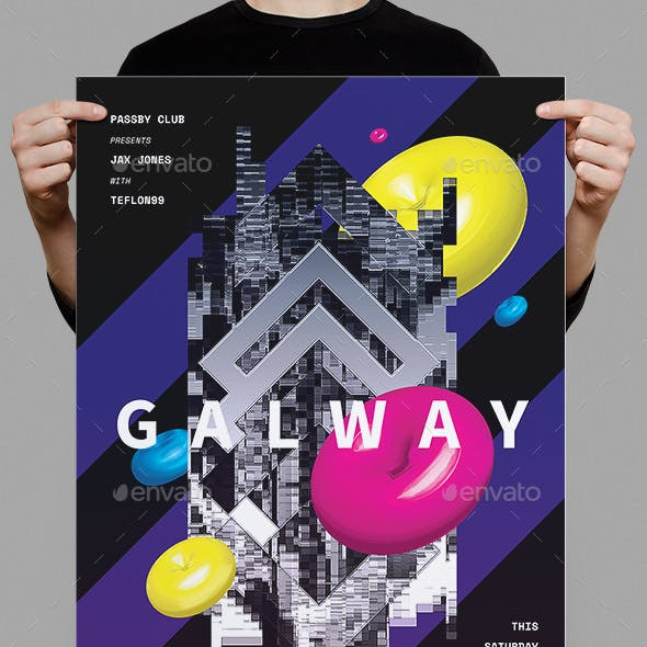 Galway Flyer / Poster