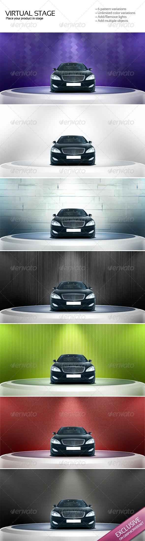 Virtual Stage - Backgrounds Graphics