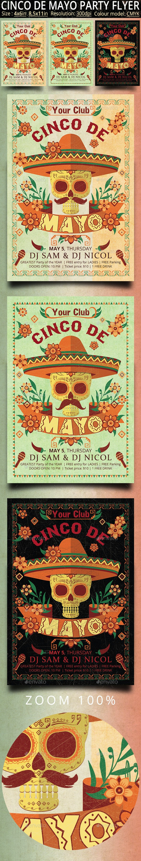 Cinco de Mayo - Clubs & Parties Events