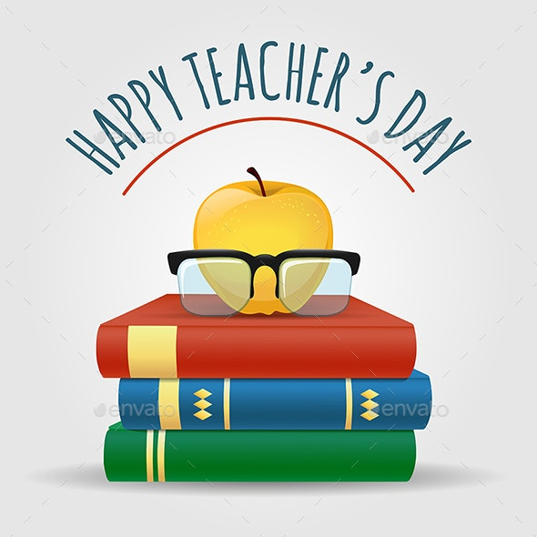 Happy Teachers Day Illustration by Olena1983 | GraphicRiver