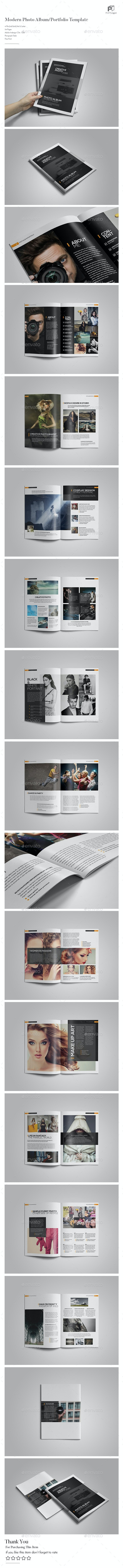 Photography Portfolio/Photo Album Vol.3 - Portfolio Brochures