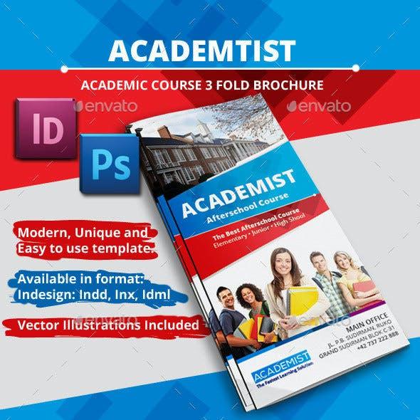 Academic Education A4 Tri fold Brochure