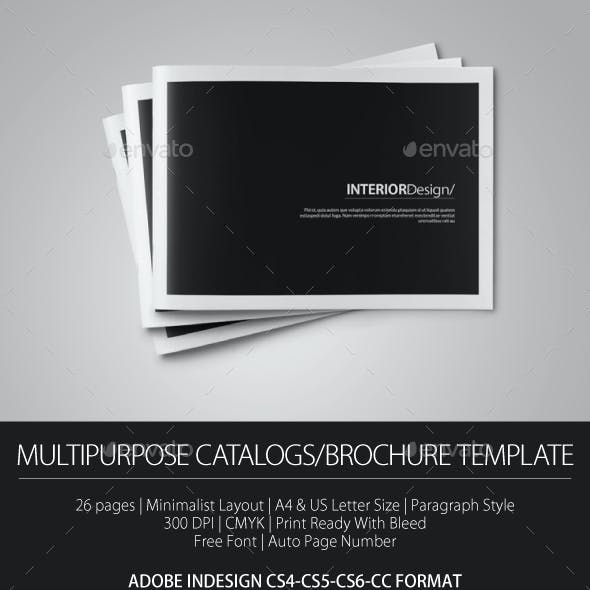 Multipurpose Portfolio Brochure Cataloge Template