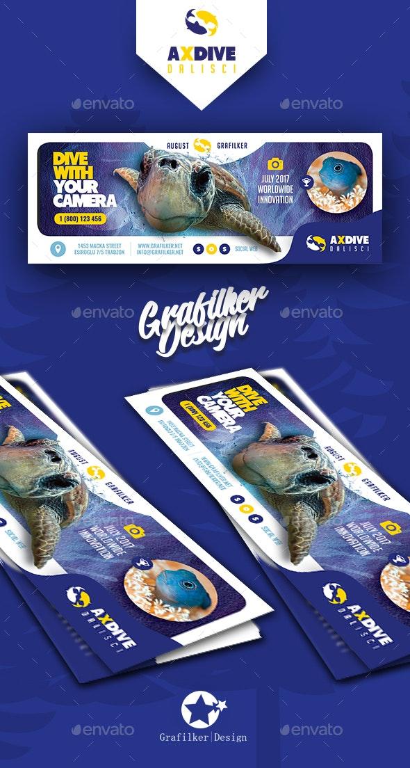 Ocean Diving Cover Templates - Facebook Timeline Covers Social Media