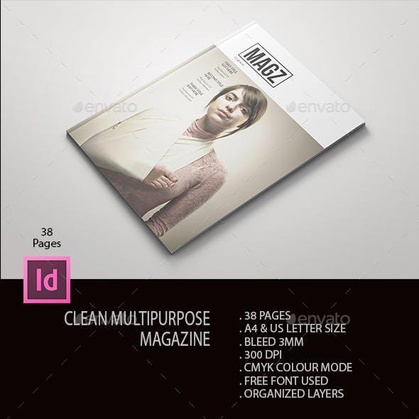 Clean Multipurpose Magazine