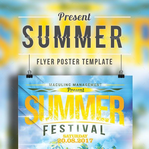 Summer Flyer/ Poster Vol.3
