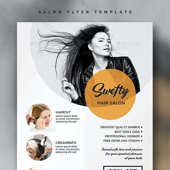 Salon Flyer Template Vol.02