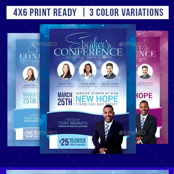 Church Event or Conference Flyer