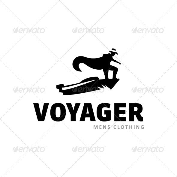 Voayger men fashion - Vector Abstract