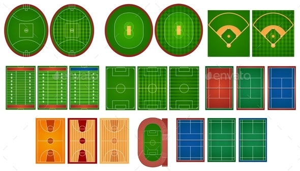 Sport Courts and Fields - Miscellaneous Conceptual