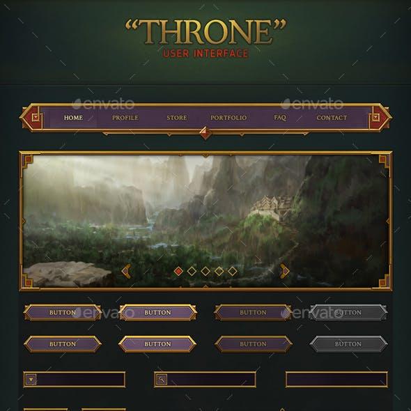 Throne User Interface