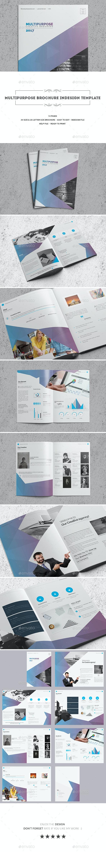 Multipurpose Brochure Indesign Template - Corporate Brochures