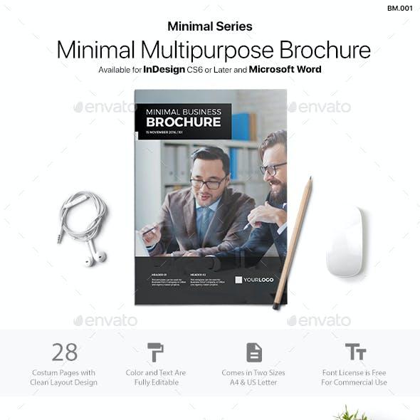Minimal Brochure