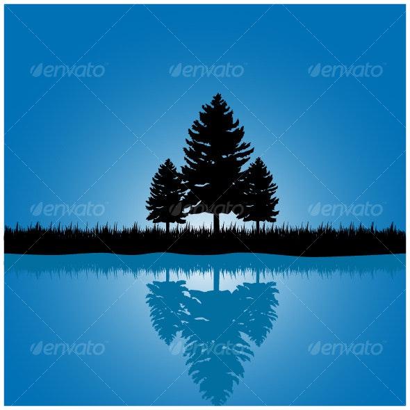 Tree scene - Landscapes Nature
