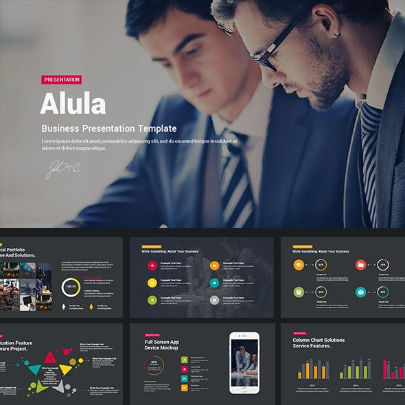 Alula - Business Keynote Template