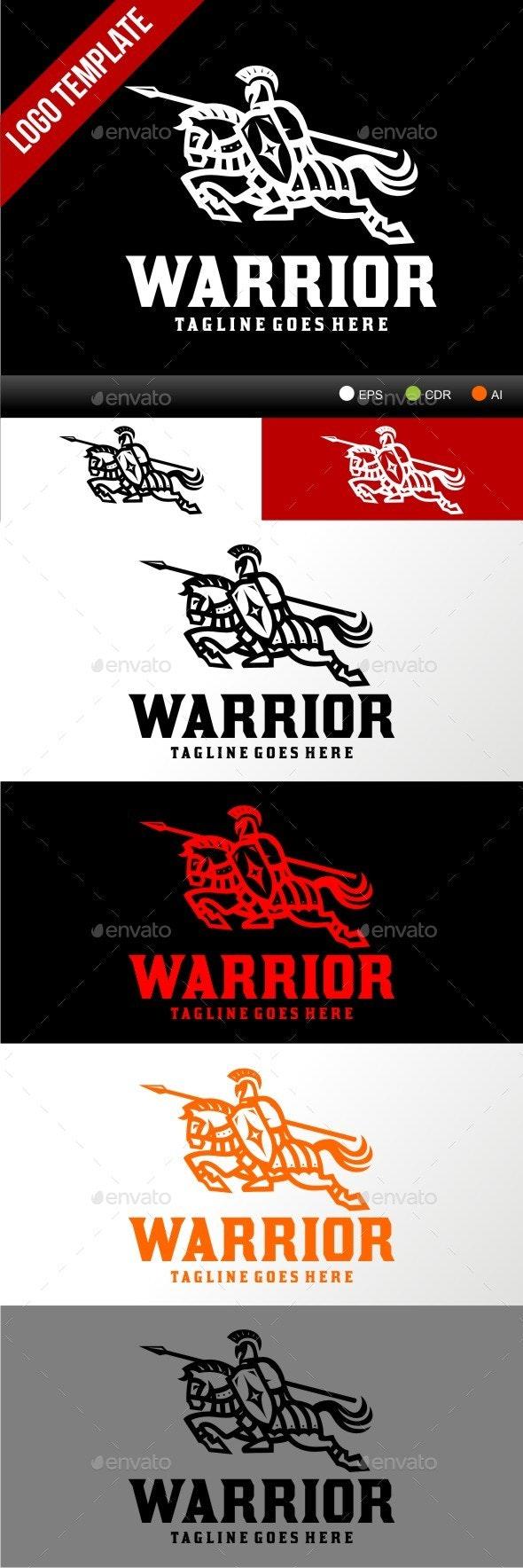 Warrior - Humans Logo Templates