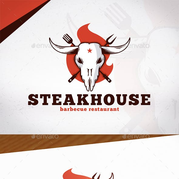 Steakhouse Bbq Logo Design
