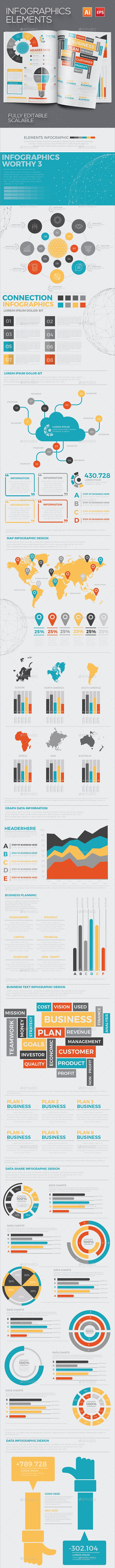 Infographics Elements Design - Infographics