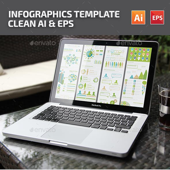 Green Social Media Infographics