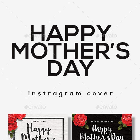 Happy Mother Day Instagram Cover