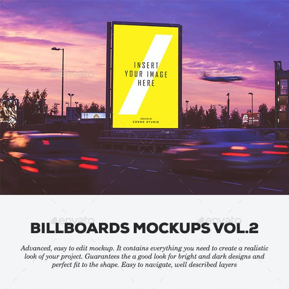 Billboards Mockups Vol.2