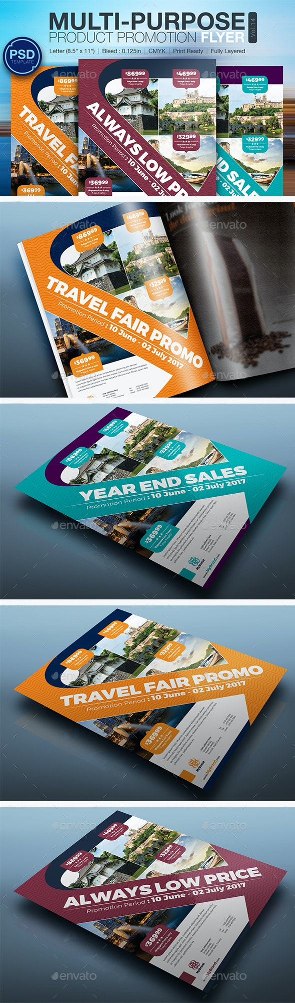 Multi-Purpose Product Promotion Flyer Vol.14 - Commerce Flyers