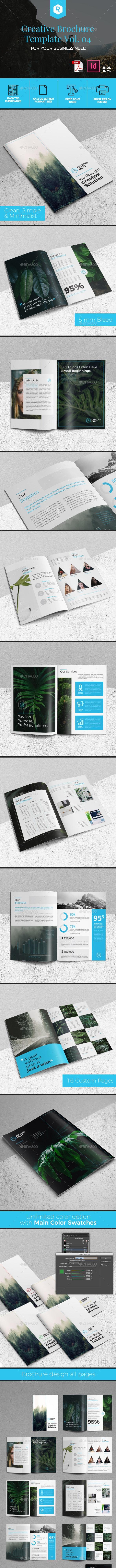 Creative Brochure Template Vol. 04 - Corporate Brochures