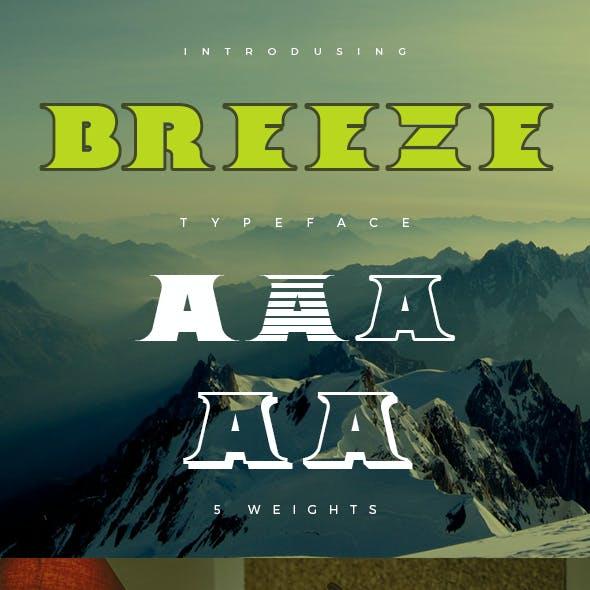 Breeze Typeface