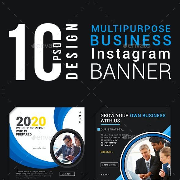 Multipurpose Business Instagram Banner