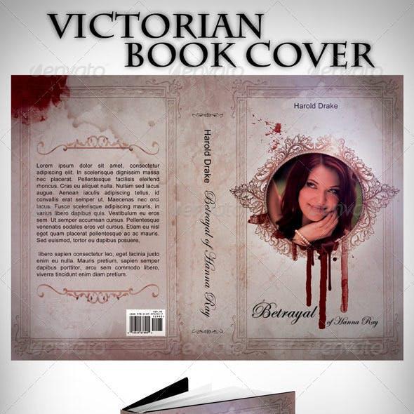 "5""x8"" Victorian Book Cover"